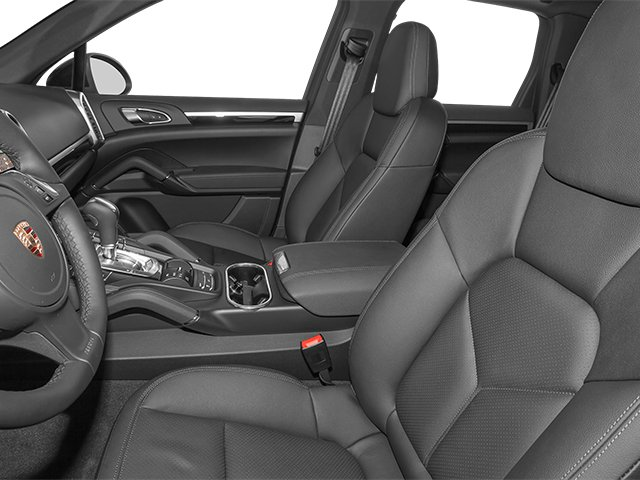 2014 Porsche Cayenne Prices and Values Utility 4D Platinum AWD V6 T-Diesel front seat interior