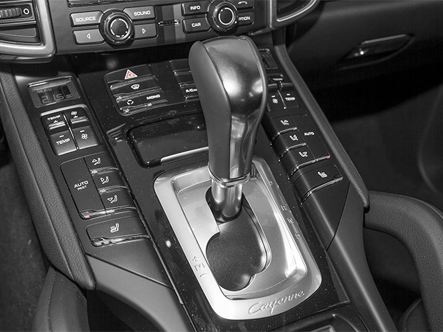 2014 Porsche Cayenne Prices and Values Utility 4D Platinum AWD V6 T-Diesel center console