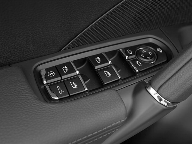2014 Porsche Cayenne Prices and Values Utility 4D Platinum AWD V6 T-Diesel driver's side interior controls