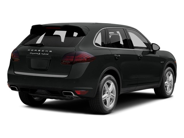 2014 Porsche Cayenne Prices and Values Utility 4D S AWD Hybrid V6 side rear view