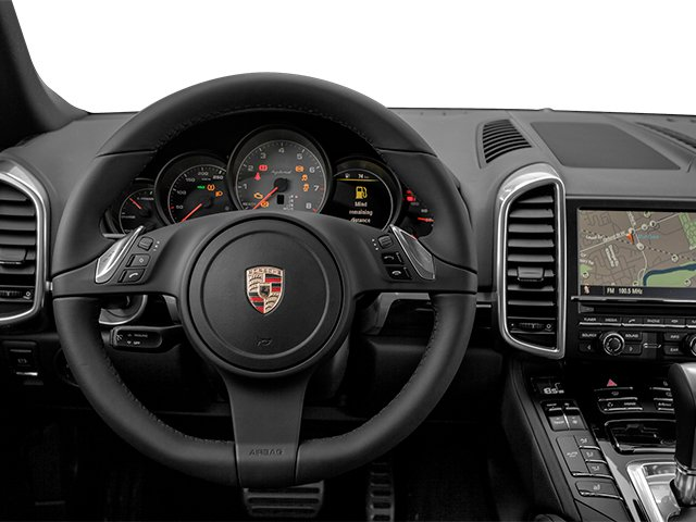 2014 Porsche Cayenne Prices and Values Utility 4D S AWD Hybrid V6 driver's dashboard