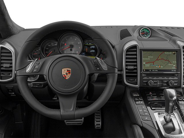 2014 Porsche Cayenne Prices and Values Utility 4D GTS AWD V8 driver's dashboard