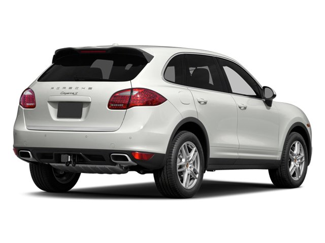 2014 Porsche Cayenne Prices and Values Utility 4D AWD V6 side rear view