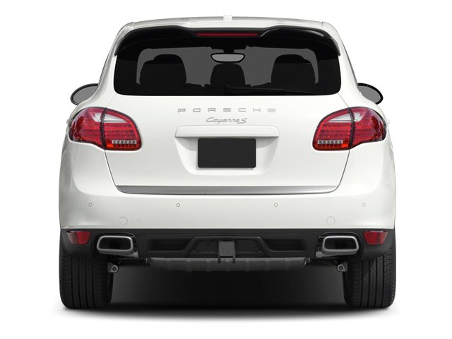 2014 Porsche Cayenne Prices and Values Utility 4D AWD V6 rear view