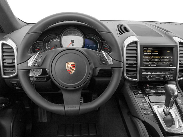 2014 Porsche Cayenne Prices and Values Utility 4D AWD V6 driver's dashboard