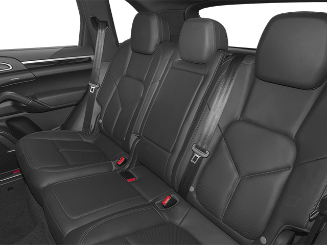 2014 Porsche Cayenne Prices and Values Utility 4D AWD V6 backseat interior