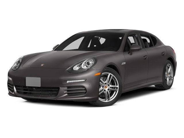 2014 Porsche Panamera Pictures Panamera Hatchback 4D S AWD V8 Turbo photos side front view