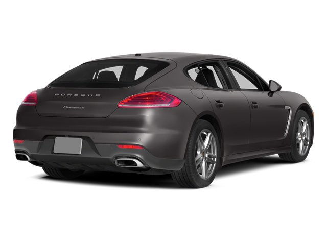 2014 Porsche Panamera Pictures Panamera Hatchback 4D S AWD V8 Turbo photos side rear view
