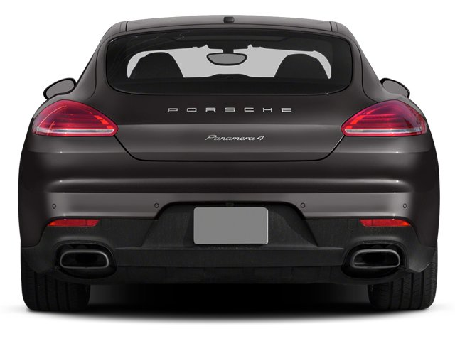 2014 Porsche Panamera Pictures Panamera Hatchback 4D 4S V6 Turbo photos rear view