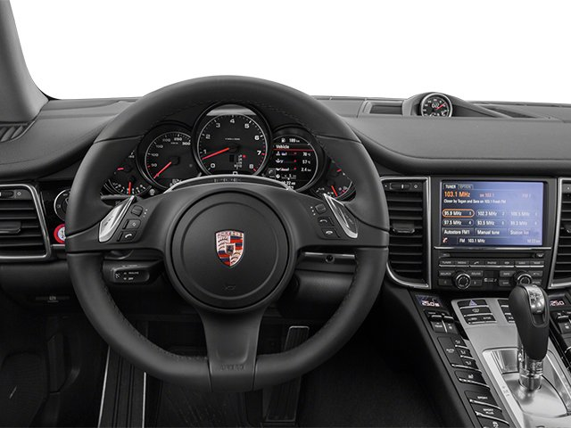 2014 Porsche Panamera Prices and Values Hatchback 4D S AWD V8 Turbo driver's dashboard