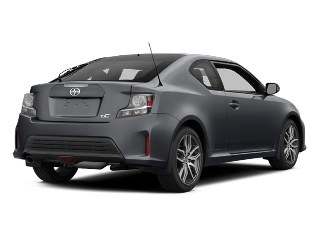 2014 Scion tC Prices and Values Liftback 3D I4 side rear view
