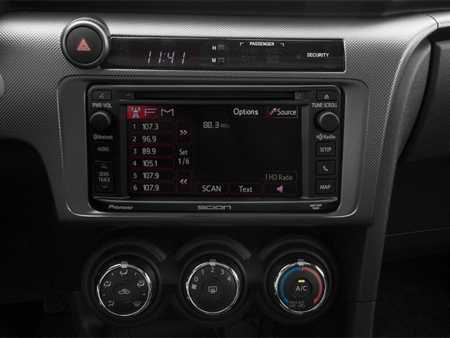 2014 Scion tC Prices and Values Liftback 3D I4 stereo system