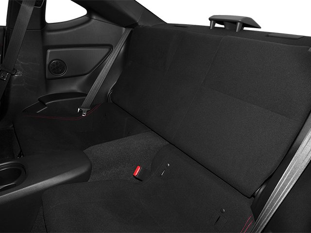 2014 Scion FR-S Prices and Values Coupe 2D Monogram H4 backseat interior
