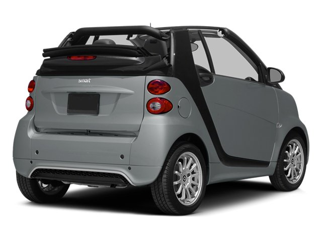 2014 smart fortwo Prices and Values Convertible 2D Passion I3 side rear view