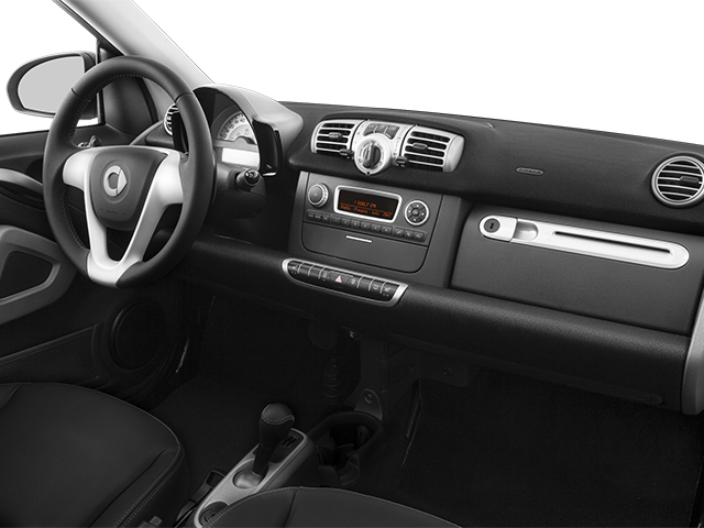 2014 smart fortwo Prices and Values Convertible 2D Passion I3 passenger's dashboard