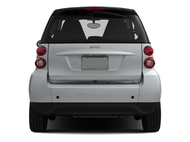 2014 smart fortwo Prices and Values Coupe 2D Pure I3 rear view