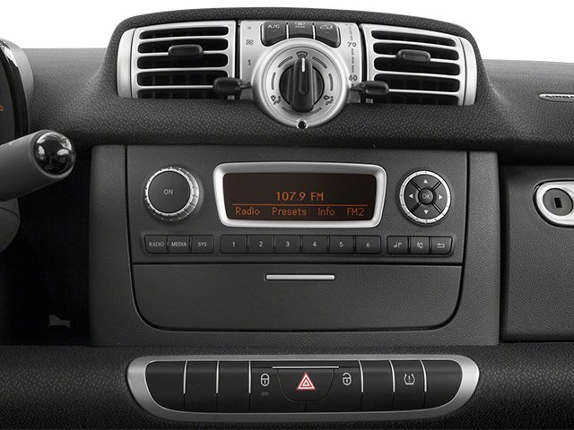 2014 smart fortwo Prices and Values Coupe 2D Pure I3 stereo system