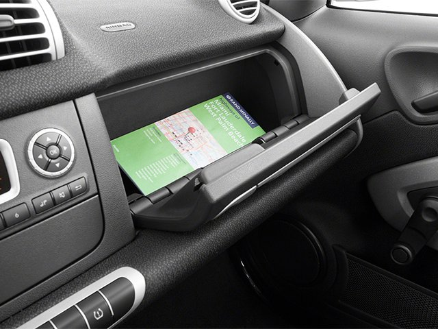 2014 smart fortwo Prices and Values Coupe 2D Pure I3 glove box