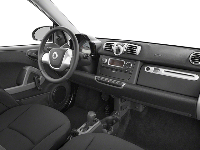 2014 smart fortwo Prices and Values Coupe 2D Pure I3 passenger's dashboard