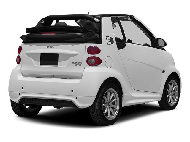 2014 smart fortwo electric drive Pictures fortwo electric drive Convertible 2D Electric photos side rear view