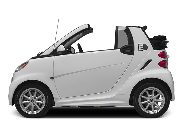 2014 smart fortwo electric drive Pictures fortwo electric drive Convertible 2D Electric photos side view