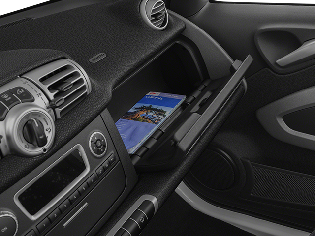 2014 smart fortwo electric drive Pictures fortwo electric drive Convertible 2D Electric photos glove box