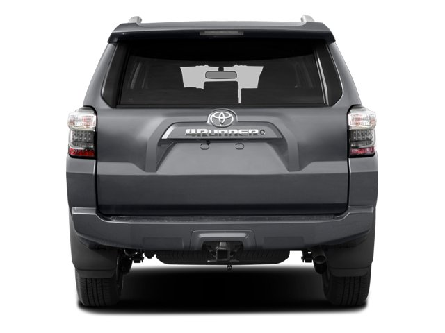 2014 Toyota 4Runner Prices and Values Utility 4D Limited 4WD V6 rear view