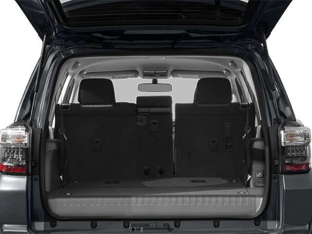 2014 Toyota 4Runner Prices and Values Utility 4D Limited 4WD V6 open trunk