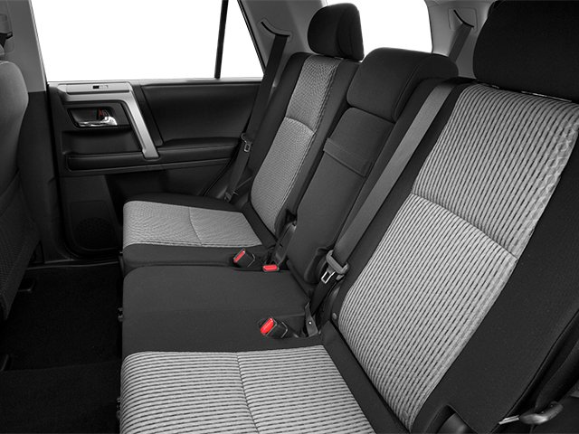 2014 Toyota 4Runner Prices and Values Utility 4D Limited 4WD V6 backseat interior