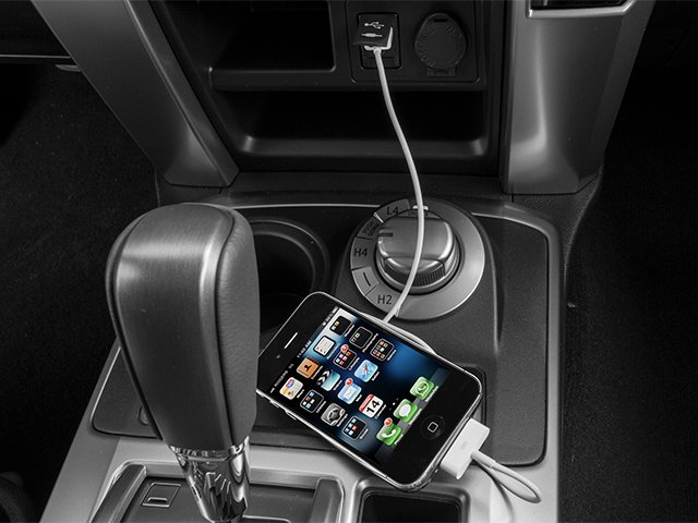 2014 Toyota 4Runner Prices and Values Utility 4D Limited 4WD V6 iPhone Interface