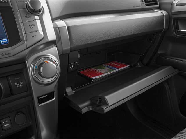2014 Toyota 4Runner Prices and Values Utility 4D Limited 4WD V6 glove box