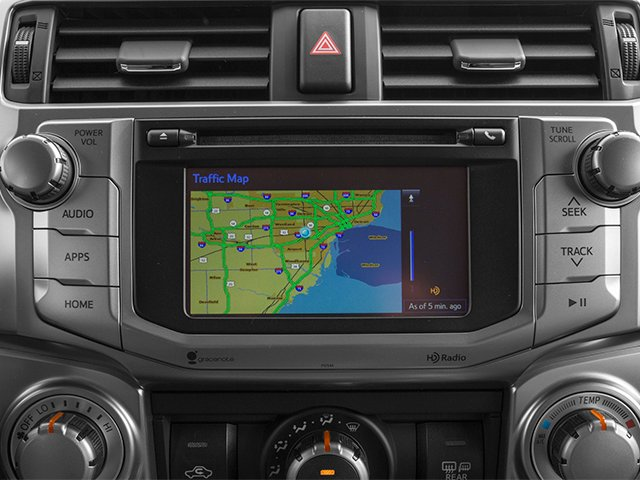 2014 Toyota 4Runner Prices and Values Utility 4D Limited 4WD V6 navigation system