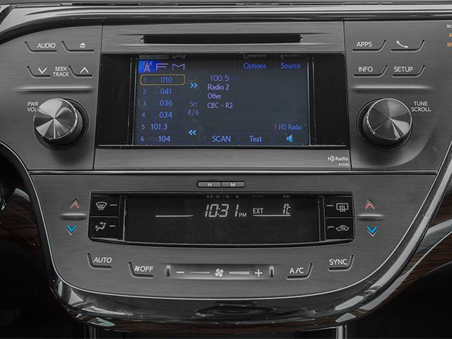 2014 Toyota Avalon Prices and Values Sedan 4D XLE V6 stereo system