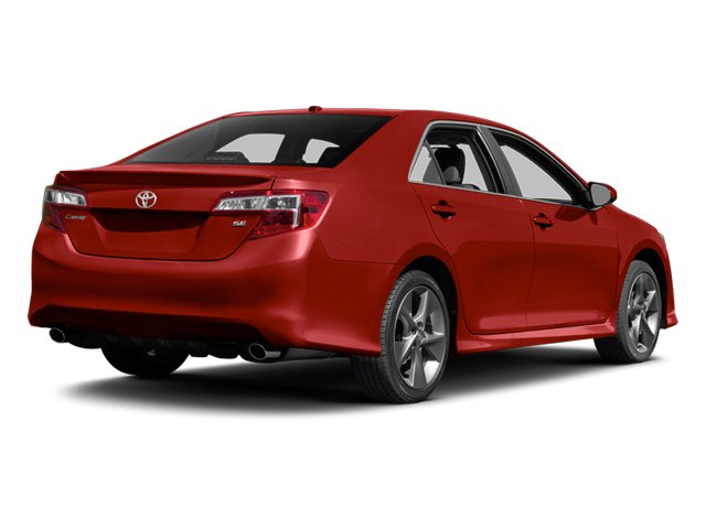 2014 Toyota Camry Prices and Values Sedan 4D LE I4 side rear view