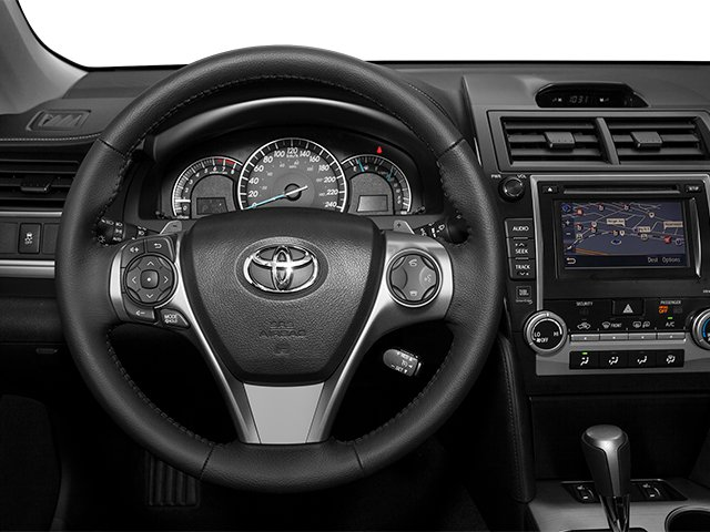 2014 Toyota Camry Prices and Values Sedan 4D LE I4 driver's dashboard