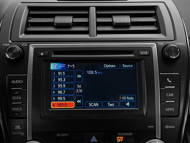 2014 Toyota Camry Prices and Values Sedan 4D LE I4 stereo system