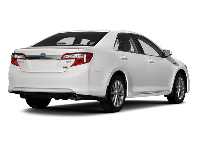 2014 Toyota Camry Hybrid Pictures Camry Hybrid Sedan 4D LE I4 Hybrid photos side rear view