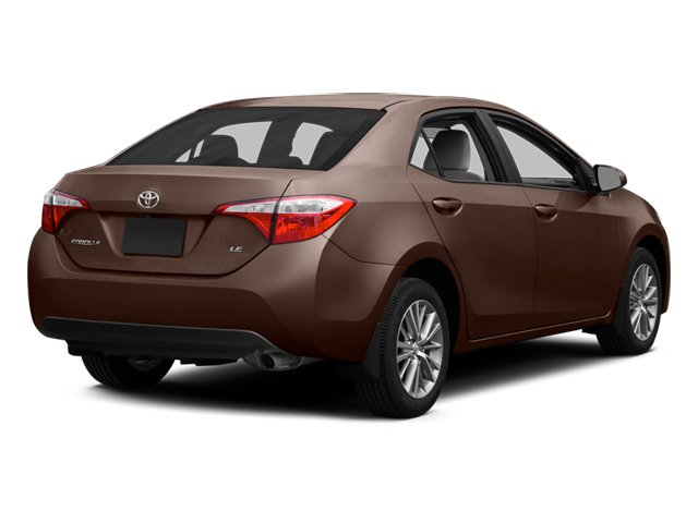 2014 Toyota Corolla Prices and Values Sedan 4D L I4 side rear view