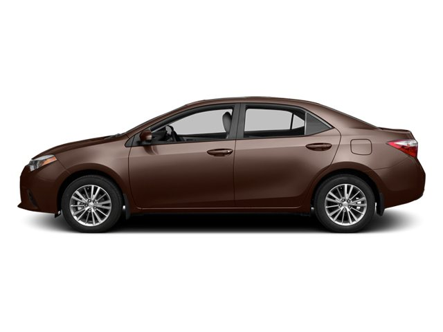 2014 Toyota Corolla Prices and Values Sedan 4D L I4 side view