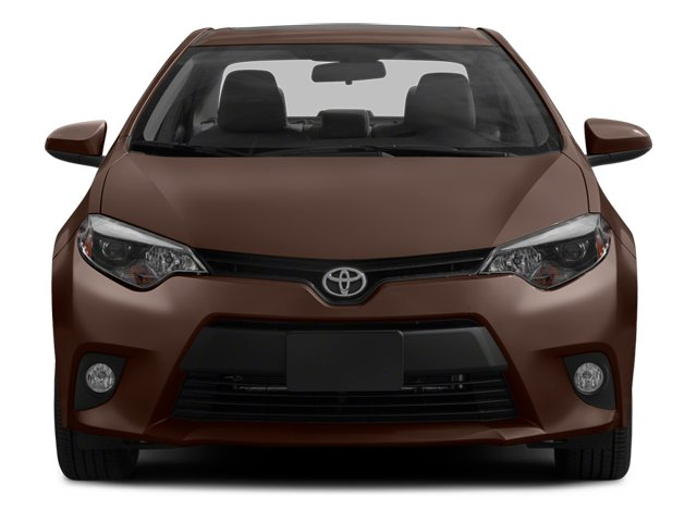 2014 Toyota Corolla Prices and Values Sedan 4D L I4 front view