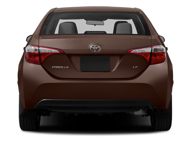 2014 Toyota Corolla Prices and Values Sedan 4D L I4 rear view