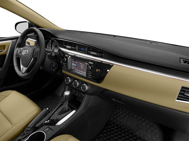 2014 Toyota Corolla Prices and Values Sedan 4D L I4 passenger's dashboard