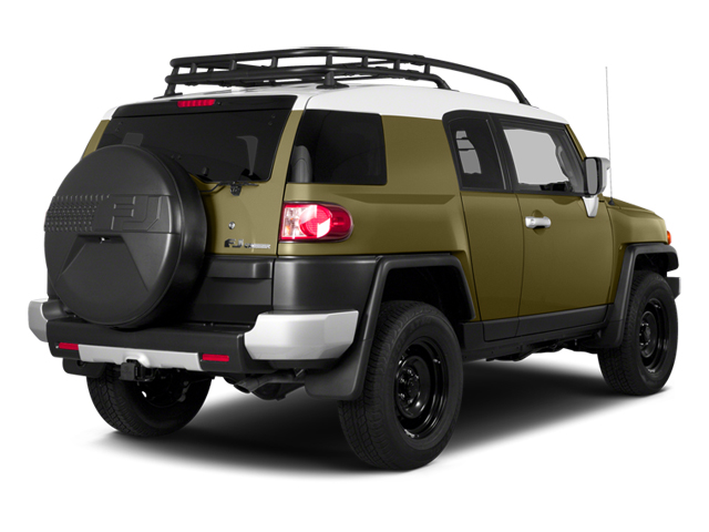 2014 Toyota FJ Cruiser Prices and Values Utility 4D 2WD V6 side rear view