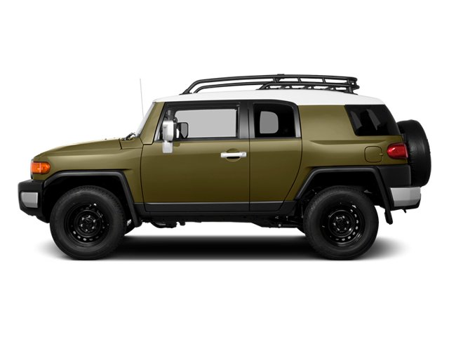 2014 Toyota FJ Cruiser Prices and Values Utility 4D 2WD V6 side view
