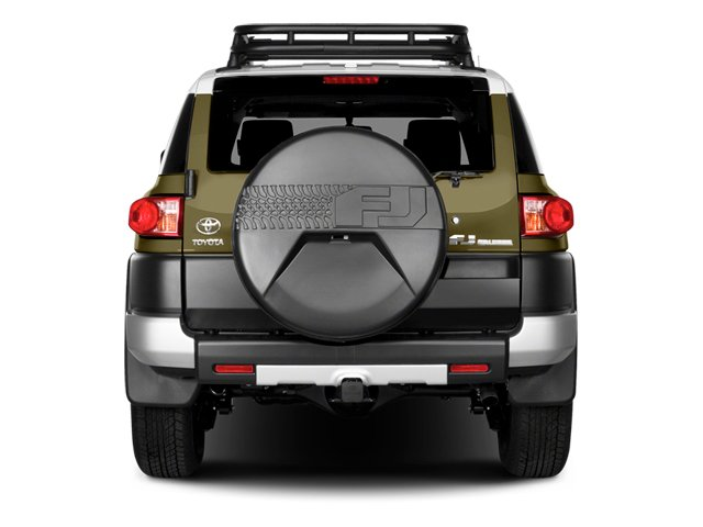 2014 Toyota FJ Cruiser Prices and Values Utility 4D 2WD V6 rear view