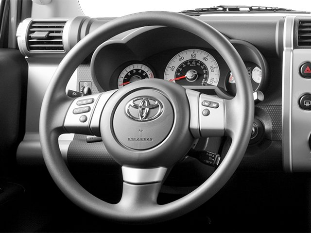 2014 Toyota FJ Cruiser Prices and Values Utility 4D 2WD V6 driver's dashboard