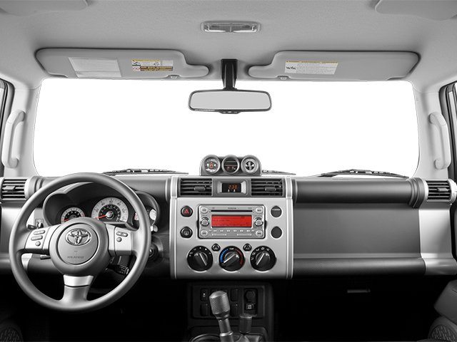 2014 Toyota FJ Cruiser Prices and Values Utility 4D 2WD V6 full dashboard