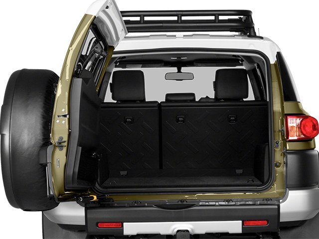 2014 Toyota FJ Cruiser Prices and Values Utility 4D 2WD V6 open trunk