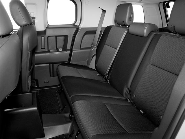 2014 Toyota FJ Cruiser Prices and Values Utility 4D 2WD V6 backseat interior