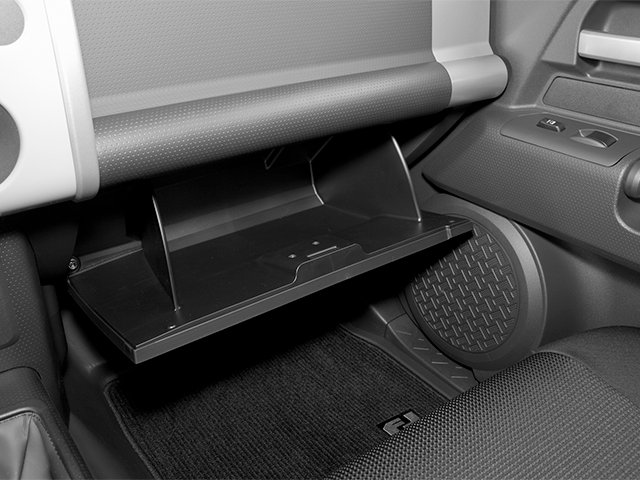2014 Toyota FJ Cruiser Prices and Values Utility 4D 2WD V6 glove box
